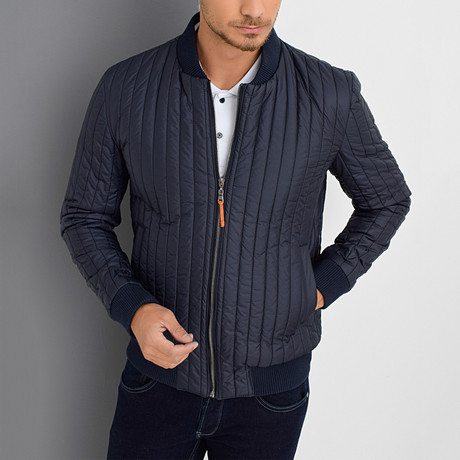 Keaton Coat // Dark Blue (X-Small)