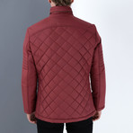 Jonathan Coat // Burgundy (Medium)