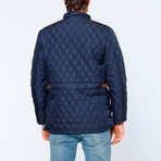 Frankfurt Overcoat // Dark Blue (Small)