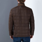 Marvin Coat // Brown (Small)