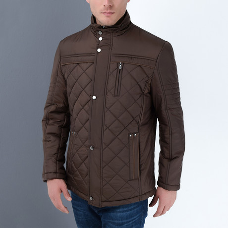 Chad Coat // Brown (Small)