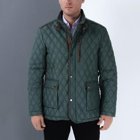 Xander Coat // Green (Small)