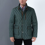 Xander Coat // Green (Small)