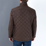 Chad Coat // Brown (Large)