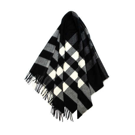 Burberry // Check Bandana // Black