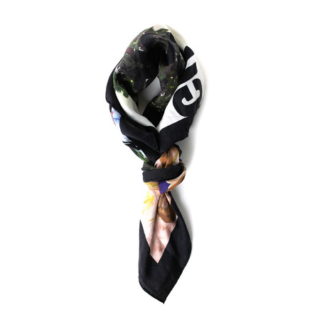 Gucci // Guccify Yourself Printed Scarf // Multicolor