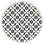 Seamless Antique Floral Pattern Vinyl Mat Rug