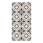 European Vintage Floral Pattern Rug Mat