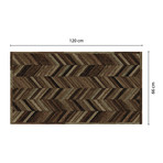 Vinyl Wooden Floor Mat