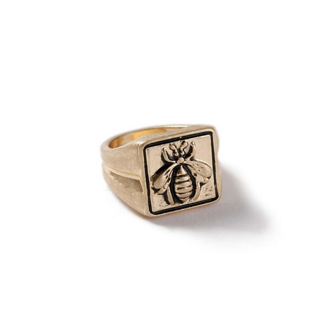 Bee Statement Ring // 14K Gold Plating (8)