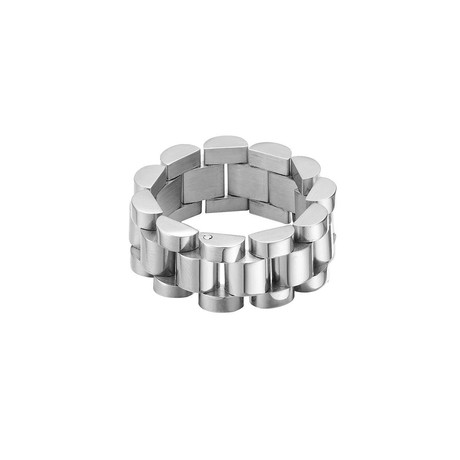 Stainless Steel Link Chain Ring (8)