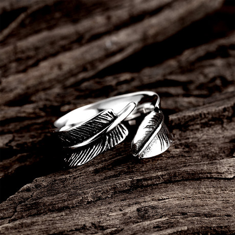 Open-Ended Leaf Ring (8)
