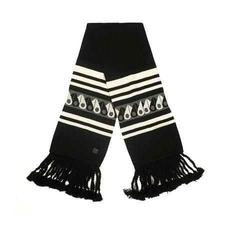 Moose Canuk Scarf // Black + White