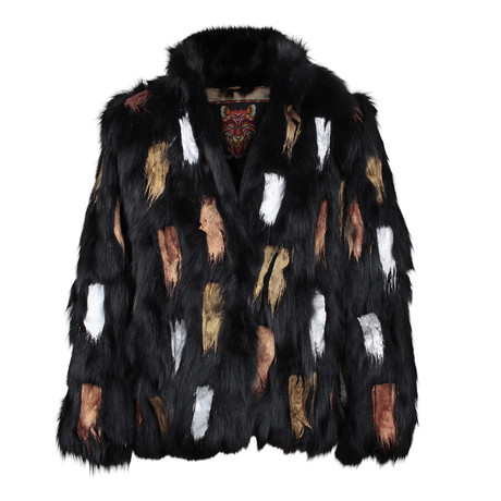 Women's Joliette Fur Jacket // Black (XS)