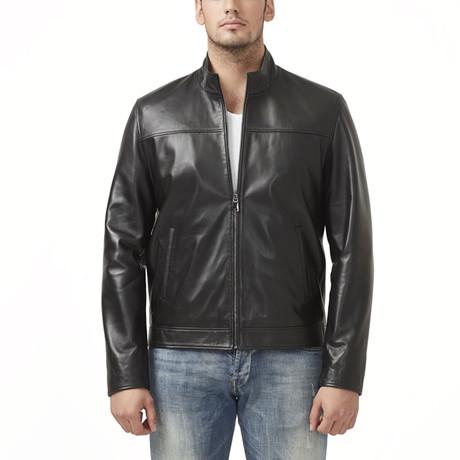 Balaton Leather Jacket // Black (XS)