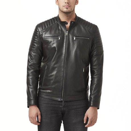 Ontario Leather Jacket // Black (XS)