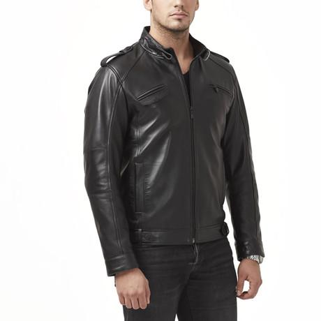 Toba Leather Jacket // Black (XS)
