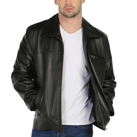 Baikal Leather Jacket // Black (XS)