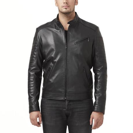 Volta Leather Jacket // Black (XS)