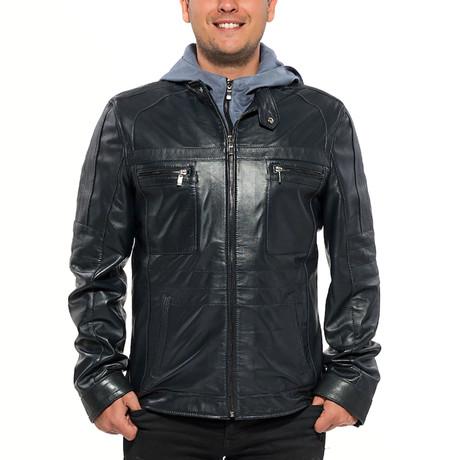 Valencia Leather Jacket // Black (XS)