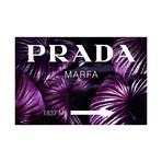 "Purple Prada Jungle (16""W x 24""H x 2""D)"