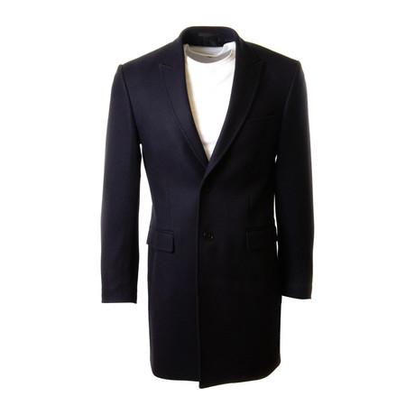 Wool Coat // Navy (Euro: 48)