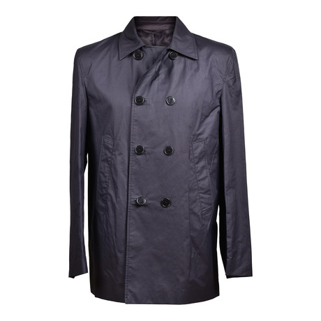 Versace Collection V2 // Double Breasted Jacket // Black (Euro: 46)