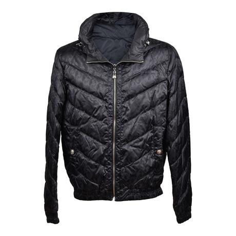 Versace // Puffer Jacket // Black (Euro: 46)