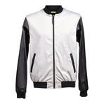 Versace Jeans // Back Logo Bomber // Black + White (Euro: 52)