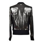 Zip-Up Jacket // Metallic Gray (Euro: 54)