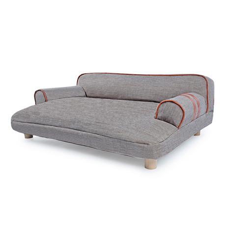Dog Sofa Bed // Wickerman // Brown