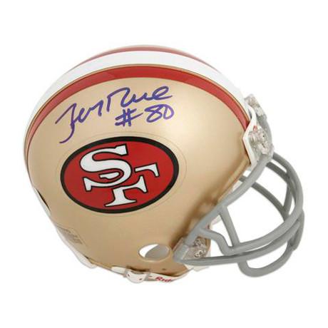Jerry Rice // SF 49ers Throwback Mini Helmet