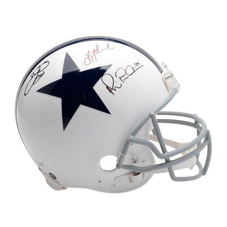 Troy Aikman, Emmitt Smith, + Michael Irvin // Dallas Cowboys Throwback Pro-Line Helmet