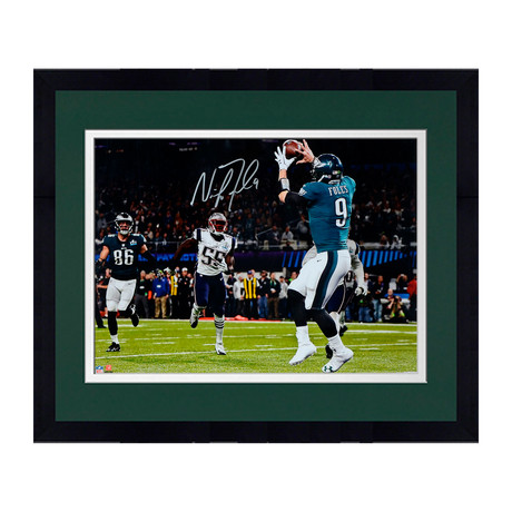 Nick Foles // Philadelphia Eagles 16'' x 20'' SB LII Champions Philly Touchdown Catch Photograph