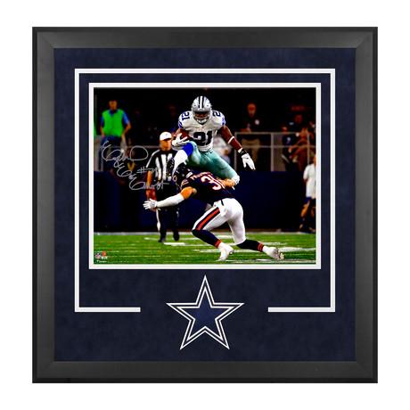 "Ezekiel Elliott // Dallas Cowboys Deluxe 16"" x 20"" Leaping Photograph"