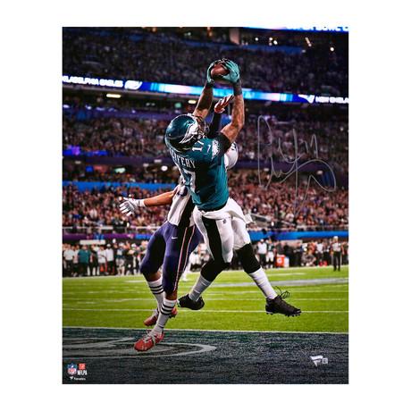 "Alshon Jeffery // Philadelphia Eagles 16"" x 20"" SB LII Champions Photograph"