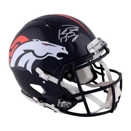 Peyton Manning // Denver Broncos Riddell Speed Pro-Line Helmet