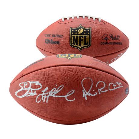 Troy Aikman, Emmitt Smith, + Michael Irvin // Dallas Cowboys Duke Pro Football