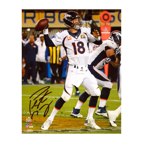 "Peyton Manning // Denver Broncos 8"" x 10"" SB 50 Champions Action Vertical Photograph (Unframed)"