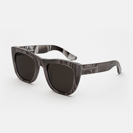 Gals Etudes X Manuel Sunglasses // Black + White