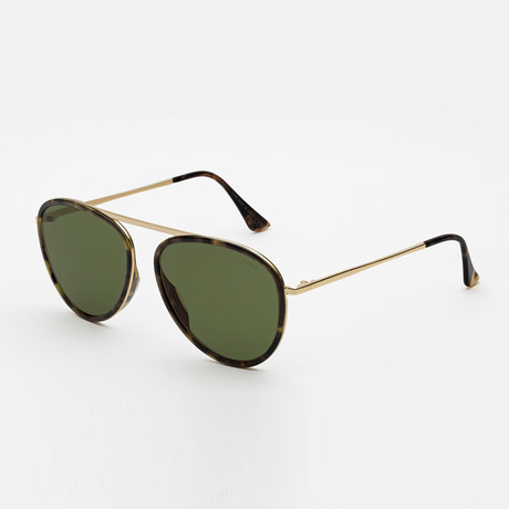 Unisex Dokyu Sunglasses // Green