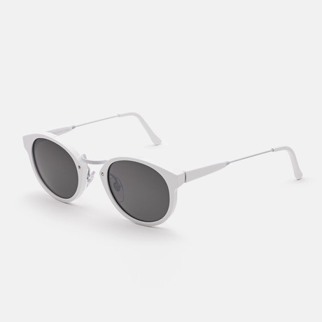 Panama Metric Sunglasses // White
