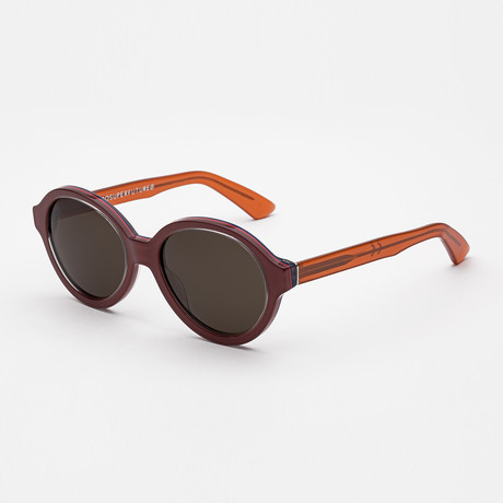 Yoma Sunglasses // Bordeaux + Orange