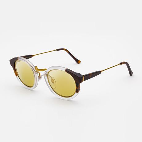 Panama League Sunglasses // Havana + Crystal