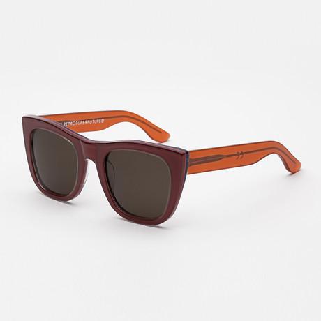 Gals Rules Sunglasses // Bordeaux + Orange