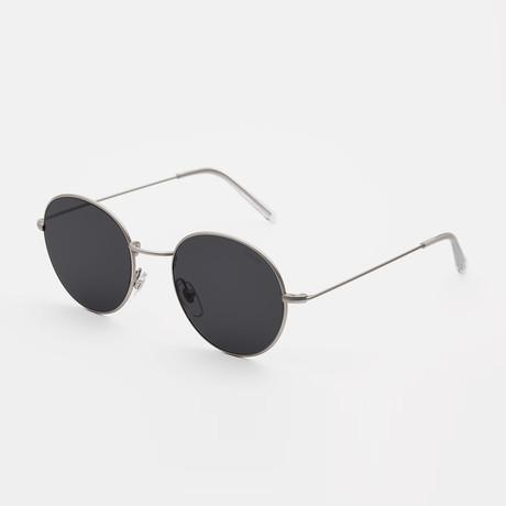 Unisex Wire Sunglasses // Black
