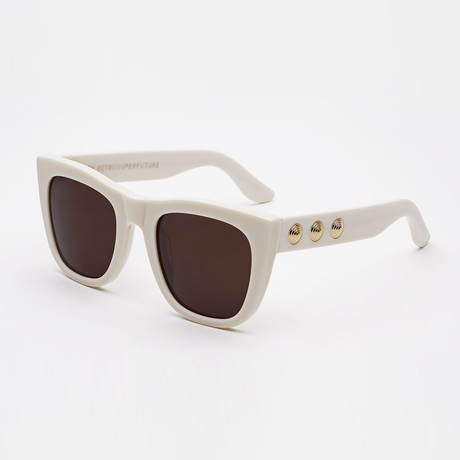 Gals Brigitte Sunglasses // White
