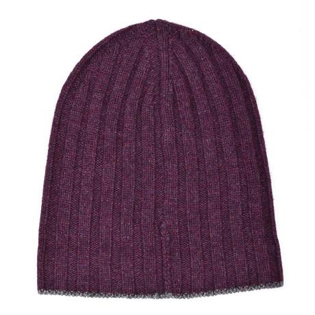 Cashmere Hat // Burgundy