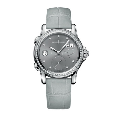 Ulysse Nardin Ladies Classic Dual Time Automatic // 3243-222B/91