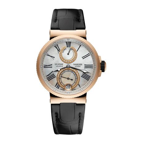 Ulysse Nardin Ladies Marine Chronometer Automatic // 1182-160/490 Store Display